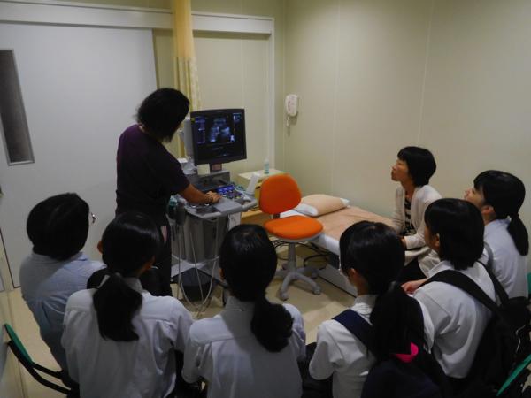 病院のお仕事体験ツアー